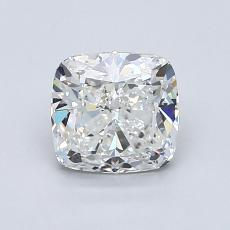 1.20-Carat Cushion Diamond Very Good G VVS1