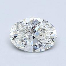 1,01-Carat Oval Diamond Very Good G VVS2