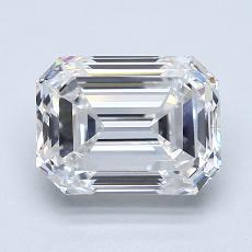 Recommended Stone #3: 3.01-Carat Emerald Cut Diamond