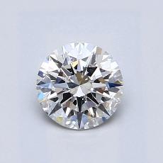 0.72 Carat 圓形 Diamond 理想 G SI1