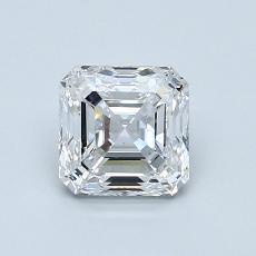 Recommended Stone #4: 1.04-Carat Asscher Cut Diamond
