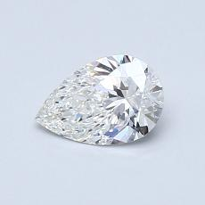 Recommended Stone #4: 0.52-Carat Pear Cut Diamond