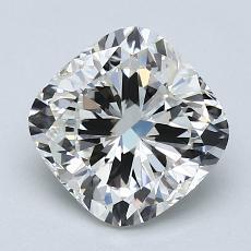 2.03-Carat Cushion Diamond Very Good H VVS2