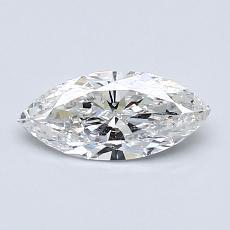 0.56 Carat Marquesa Diamond Muy buena F SI2