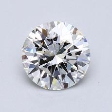 1.06 Carat 圓形 Diamond 理想 J VVS1