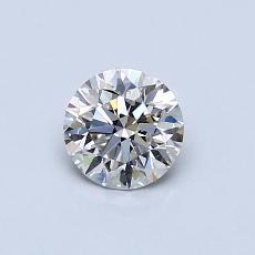 0,50 Carat Rond Diamond Idéale I VS1