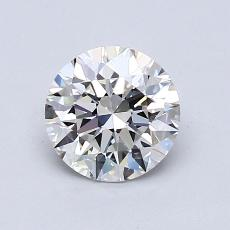 1.01 Carat 圆形 Diamond 理想 H VS1