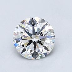 1.01-Carat Round Diamond Ideal D VS2
