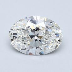 1.02-Carat Oval Diamond Very Good G VVS2