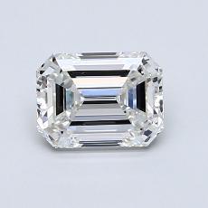1.01 Carat Esmeralda Diamond Muy buena F VS1
