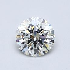 Recommended Stone #1: 0.74-Carat Round Cut Diamond