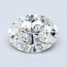 1.20-Carat Oval Diamond Very Good H VVS2