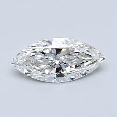 Recommended Stone #2: 0,51-Carat Marquise Cut Diamond