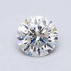 0.84-Carat Round Diamond Ideal G VS1