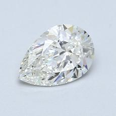 Recommended Stone #1: 0.83-Carat Pear Cut Diamond