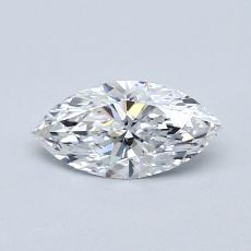 Recommended Stone #4: 0.52-Carat Marquise Cut Diamond