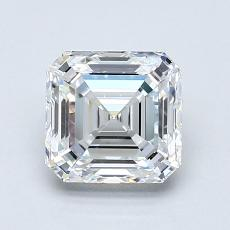 Recommended Stone #2: 1.51-Carat Asscher Cut Diamond