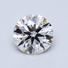 1.04-Carat Round Diamond Ideal F VS2