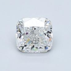 1.00 Carat 墊形 Diamond 非常好 E VVS1