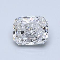 推荐宝石 3:1.08 克拉雷迪恩明亮式钻石