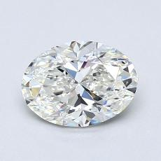 1,01-Carat Oval Diamond Very Good G VVS1