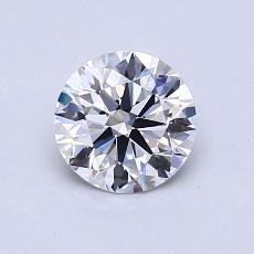 Target Stone: 0.85-Carat Round Cut Diamond
