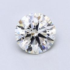 1.00 Carat 圆形 Diamond 理想 I VS1