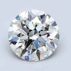 1.90-Carat Round Diamond Ideal H VS1