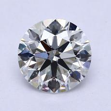 1.80 Carat 圆形 Diamond 理想 G VS2
