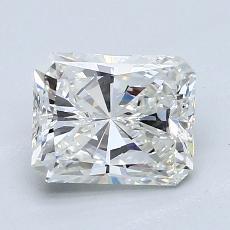 1.51-Carat Radiant Diamond Very Good G VVS1