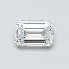 Recommended Stone #3: 0.61-Carat Emerald Cut Diamond