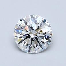 1.00 Carat 圓形 Diamond 理想 D VVS2