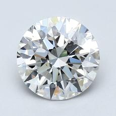 1,50-Carat Round Diamond Ideal G VS1