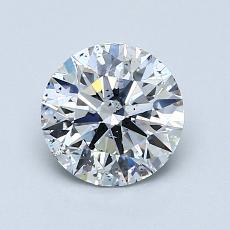 推薦鑽石 #2: 1.17  克拉圓形切割