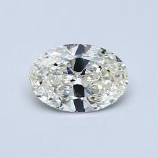 所選擇的鑽石: 0.58 克拉橢圓形切割鑽石