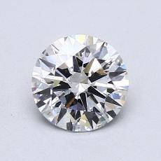 1.04 Carat 圆形 Diamond 理想 D SI1