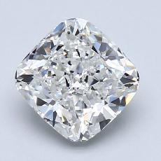 推薦鑽石 #2: 2.07 克拉墊形切割