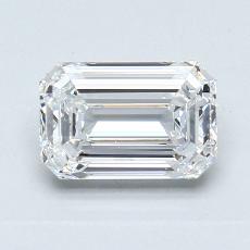 Recommended Stone #3: 1,27-Carat Emerald Cut Diamond