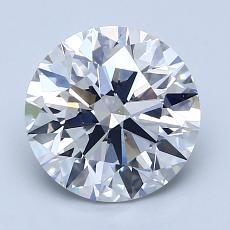 Pierre recommandée n°3: Diamant taille ronde 2,08 carat