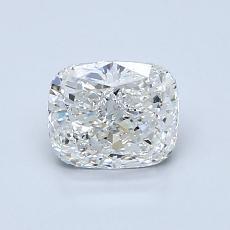 推荐宝石 4:1.00 克拉垫形钻石