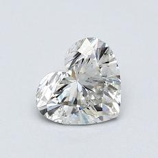 Recommended Stone #4: 0.71-Carat Heart Cut Diamond