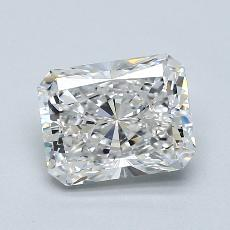 2,00-Carat Radiant Diamond Very Good F VS1