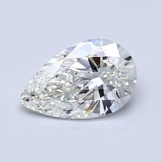 0,80-Carat Pear Diamond Very Good H VVS1