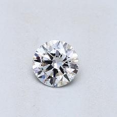 Pierre recommandée n°1: Diamant taille ronde 0,30 carat