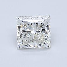 1.00-Carat Princess Diamond Very Good H VS2
