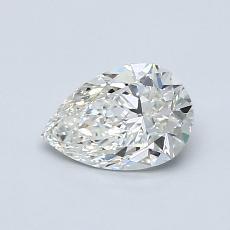 推薦鑽石 #2: 0.70 克拉梨形鑽石