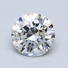 1.01-Carat Round Diamond Ideal F VS2