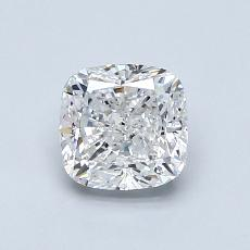 1.00-Carat Cushion Diamond Very Good E VVS1