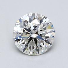 1.00 Carat 圓形 Diamond 理想 H SI1