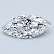 Recommended Stone #2: 0.80-Carat Marquise Cut Diamond